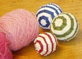 Aktiviteter for børn - fremstilling af bolde