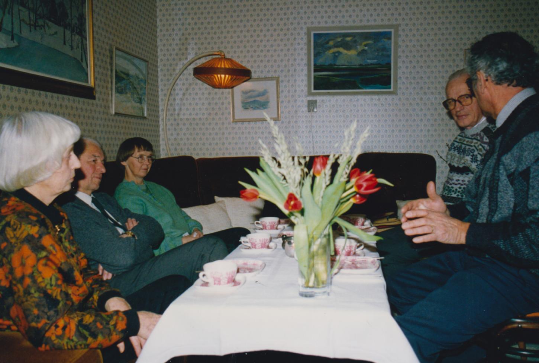 6 Første bestyrelsesmøde 1993